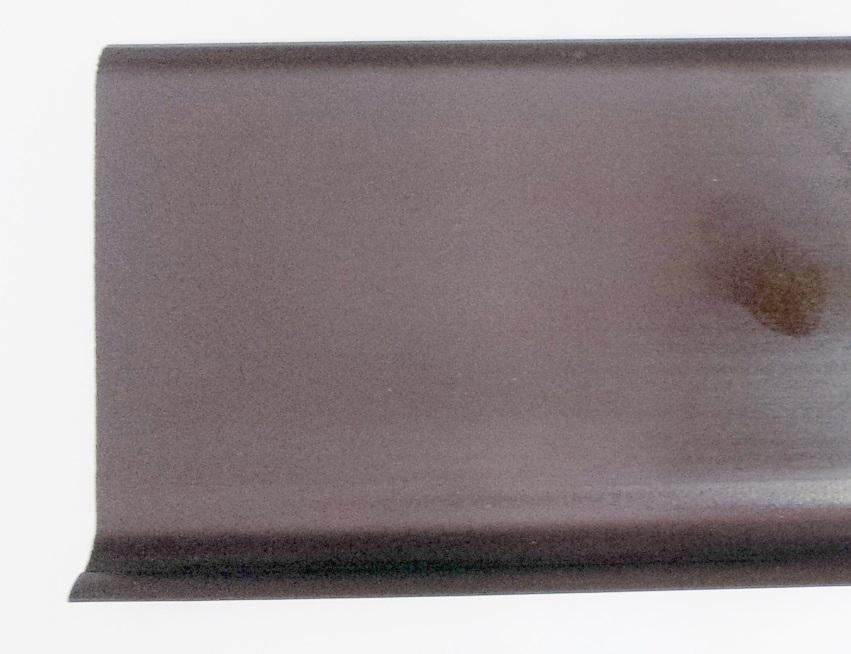 Battiscopa semiflessibile in pvc esapnso h cm con sguscia